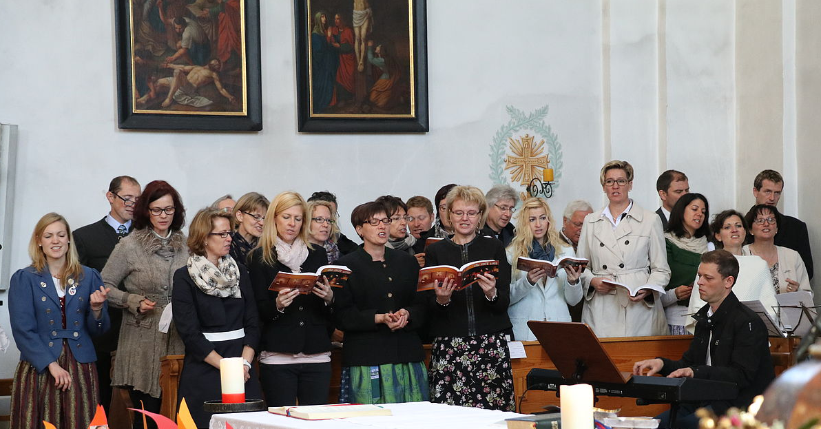 Kirchenchor Eugendorf Musikalische Begleitung Chor Für